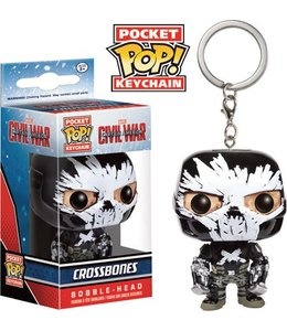 Funko Captain America Civil War Pocket POP! Vinyl Keychain Crossbones 4 cm