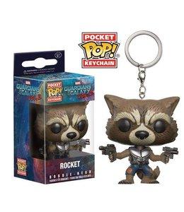 Funko Guardians of the Galaxy Vol. 2 Pocket POP! Vinyl Keychain Rocket 4 cm