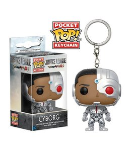 Funko Justice League Movie Pocket POP! Vinyl Keychain Cyborg 4 cm