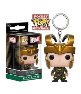 Funko Marvel Comics Pocket POP! Vinyl Keychain Loki 4 cm