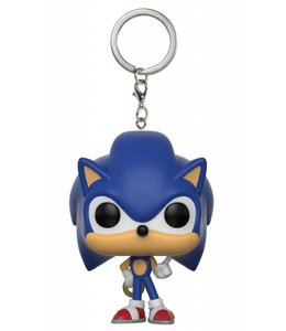 Funko Sonic The Hedgehog POP! Vinyl Keychain Sonic Ring 4 cm