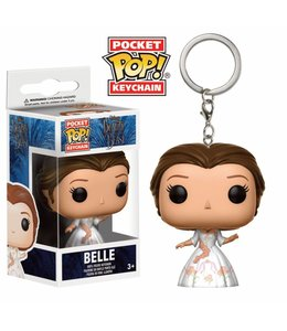 Funko Beauty and the Beast Pocket POP! Vinyl Keychain Celebration Belle 4 cm