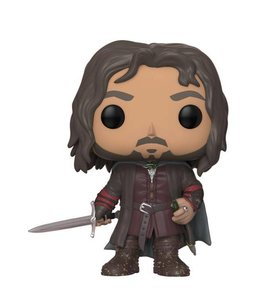 Funko Lord of the Rings POP! Movies Vinyl Figure Aragorn 9 cm