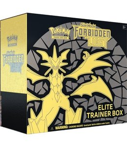 Pokemon Sun & Moon Forbidden Light  Elite Trainer Box