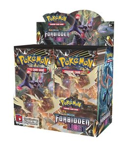 Pokemon Sun & Moon Forbidden Light  Booster