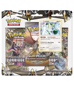 Pokemon Sun & Moon Forbidden Light  3BoosterBlister