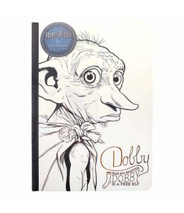 Half Moon Bay Harry Potter A5 Notebook Dobby