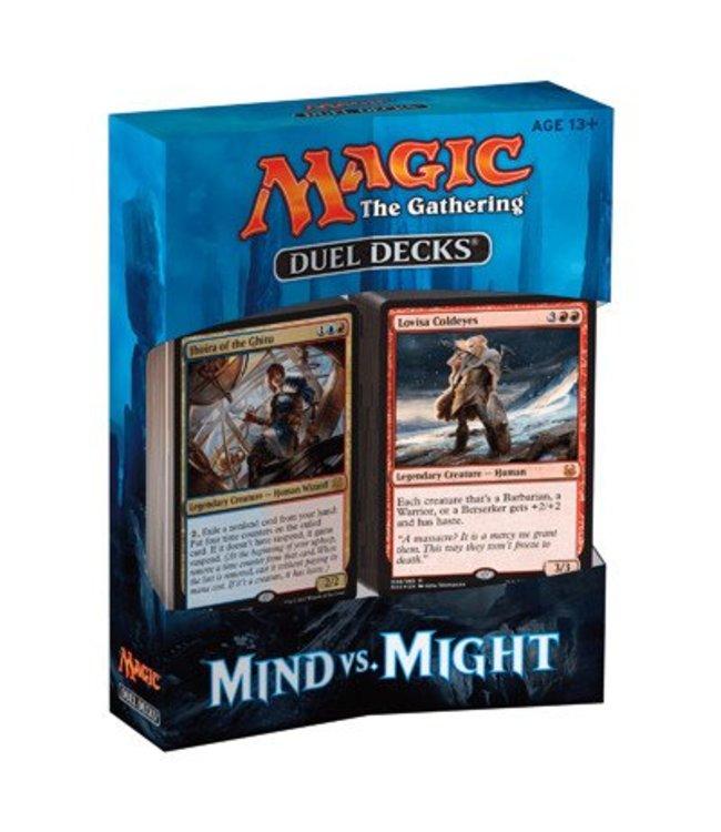 Magic the Gathering Duel Decks: Mind vs. Might