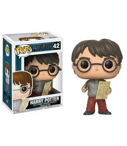 Funko Harry Potter POP! Movies Vinyl Figure Harry Potter with Marauders Map 9 cm