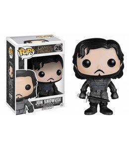 Funko Game of Thrones POP! Vinyl Figure Jon Snow Castle Black 10 cm