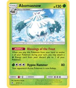 Pokemon Abomasnow - S&M ForLi 4/131 - Reverse