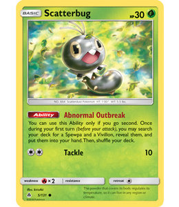Pokemon Scatterbug - S&M ForLi 5/131