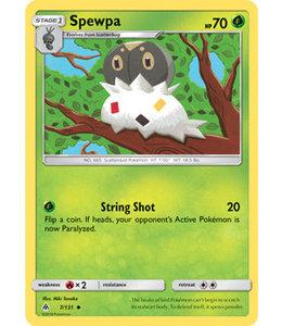 Pokemon Spewpa - S&M ForLi 7/131 - Reverse