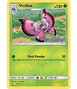 Pokemon Vivillon - S&M ForLi 8/131 - Reverse