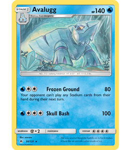 Pokemon Avalugg - S&M ForLi 30/131