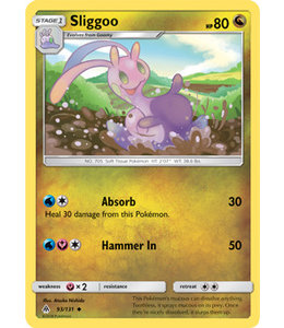 Pokemon Sliggoo - S&M ForLi 93/131 - Reverse
