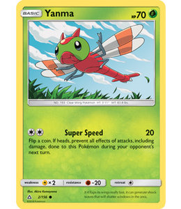 Pokemon Yanma - S&M UlPr 2/156