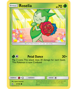 Pokemon Roselia - S&M UlPr 4/156 - Reverse
