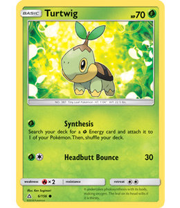 Pokemon Turtwig - S&M UlPr 6/156