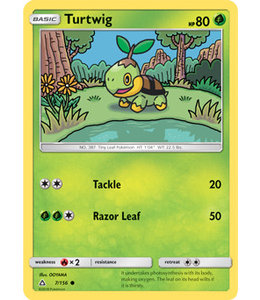 Pokemon Turtwig - S&M UlPr 7/156