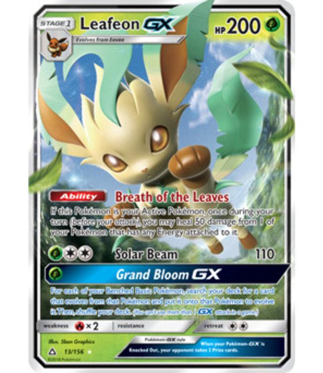 Pokemon Leafeon GX - S&M UlPr 13/156
