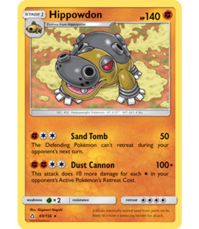 Pokemon Hippowdon - S&M UlPr 69/156