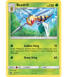 Pokemon Beedrill - S&M CrIn 3/111