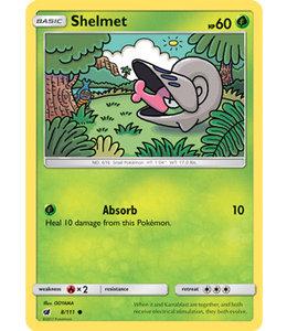 Pokemon Shelmet - S&M CrIn 8/111 - Reverse