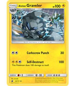 Pokemon Alolan Graveler - S&M CrIn 33/111
