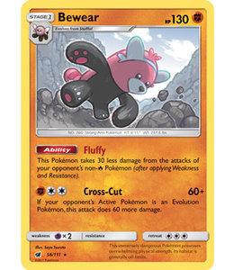 Pokemon Bewear - S&M CrIn 56/111 - Reverse