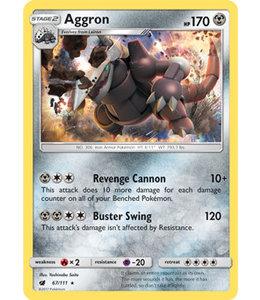 Pokemon Aggron - S&M CrIn 67/111 - Reverse