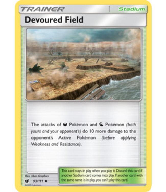 Pokemon Devoured Field - S&M CrIn 93/111