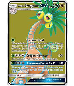 Pokemon Alolan Exeggutor GX - S&M CrIn 107/111