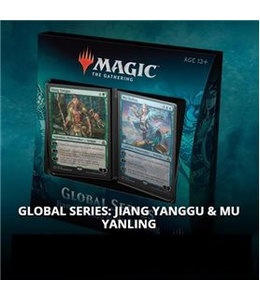 Magic the Gathering Global Series Jiang Yanggu vs Mu Yanling