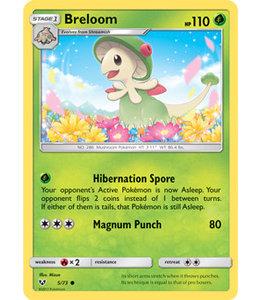 Pokemon Breloom - S&M ShLe 5/73 - Reverse