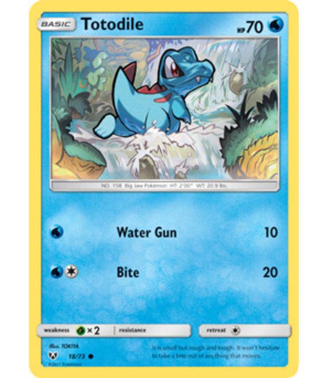 Pokemon Totodile - S&M ShLe 18/73
