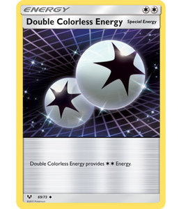 Pokemon Double Colorless Energy - S&M ShLe 69/73 - Reverse