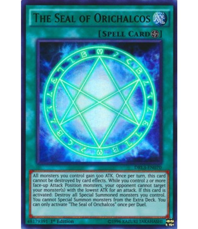 Yu-Gi-Oh! The Seal of Orichalcos - 1st. Edition - DRL3-EN070