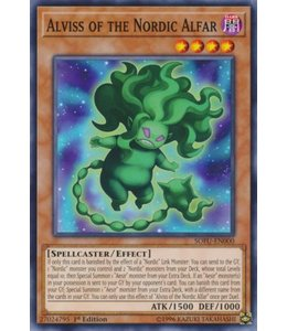 Yu-Gi-Oh! Alviss of the Nordic Alfar - 1st. Edition - SOFU-EN000