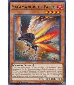 Yu-Gi-Oh! Salamangreat Falco - 1st. Edition - SOFU-EN004