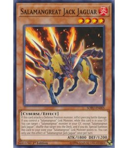 Yu-Gi-Oh! Salamangreat Jack Jaguar - 1st. Edition - SOFU-EN005