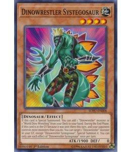 Yu-Gi-Oh! Dinowrestler Systegosaur - 1st. Edition - SOFU-EN008
