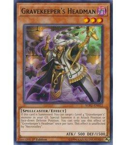 Yu-Gi-Oh! Gravekeeper's Headman - 1st. Edition - SOFU-EN012