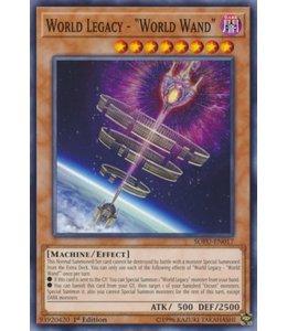 Yu-Gi-Oh! World Legacy - World Wand - 1st. Edition - SOFU-EN017