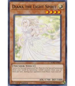 Yu-Gi-Oh! Diana the Light Spirit - 1st. Edition - SOFU-EN027