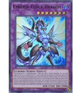 Yu-Gi-Oh! Cyberse Clock Dragon - 1st. Edition - SOFU-EN034