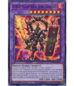 Yu-Gi-Oh! D/D/D Flame High King Genghis - 1st. Edition - SOFU-EN095