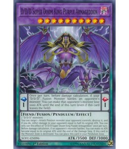 Yu-Gi-Oh! D/D/D Super Doom King Purple Armageddon - 1st. Edition - SOFU-EN096