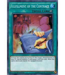 Yu-Gi-Oh! Fulfillment of the Contract - HISU-EN052