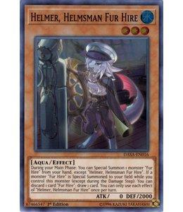 Yu-Gi-Oh! Helmer. Helmsman Fur Hire - DASA-EN016